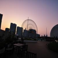 横浜の夜景写真